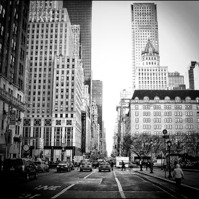 blackandwhite at New York by isablu