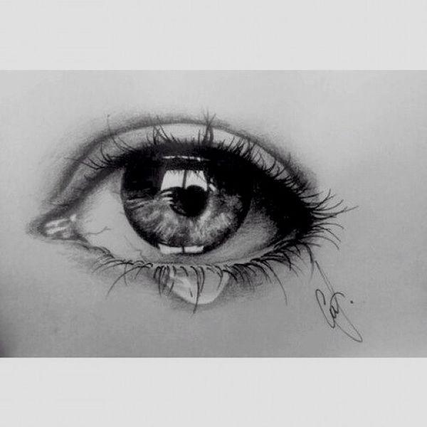 Drawing Eye ArtWork Pretty