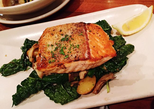 Ferrybuilding Seafood Dinner HUNGRY!!! King Salmon My World Of Food