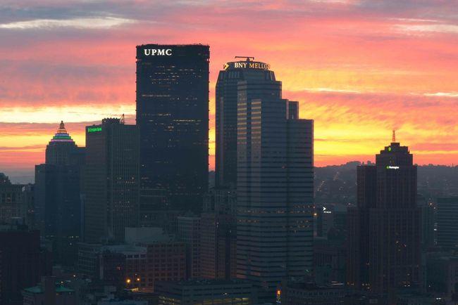 Pittsburgh sunrise