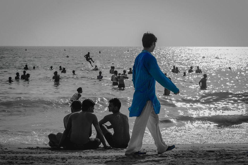 Beach Beach Photography Beachphotography Beauty In Nature Beauty In Nature Blue Boys Eid Eid Mubarak Horizon Over Water Loving Nature Men Nature Outdoors Sand Scenics Sea Standing Taking Photos Togetherness Vacations Walking At The Beach Water Wave Week On Eyeem