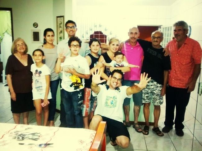 aniversario de 83 anos Valdomiro Ferreira Pontes Family Time