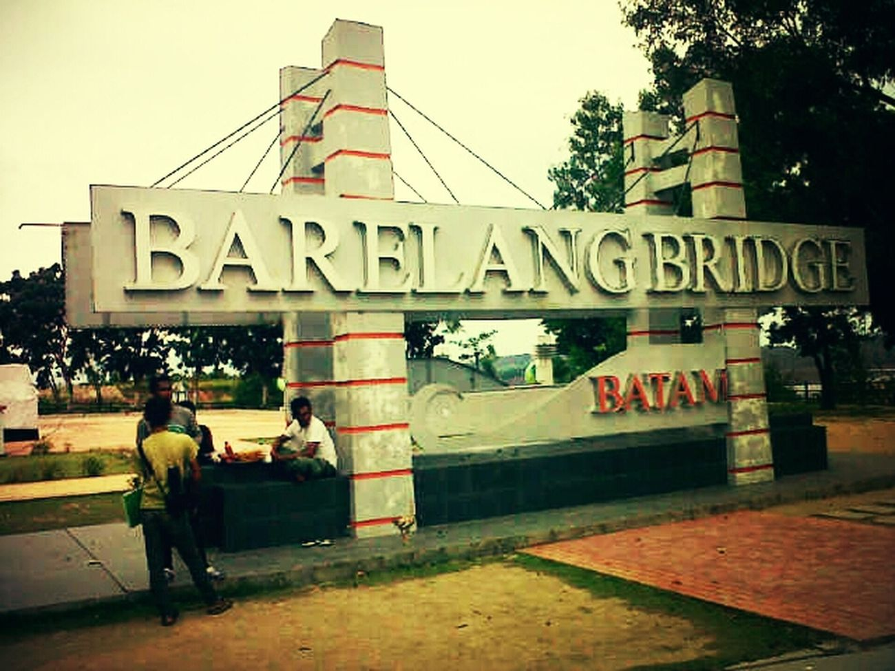 Barelang Bridge In Batam Island