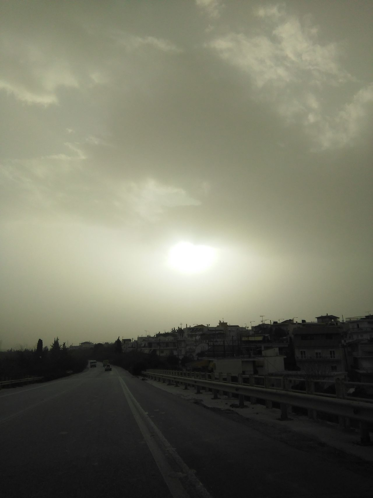 Check This Out Dust From Africa Dust Africa Greece Mobile Photography Nofilter Sun Coming Through The Clouds
