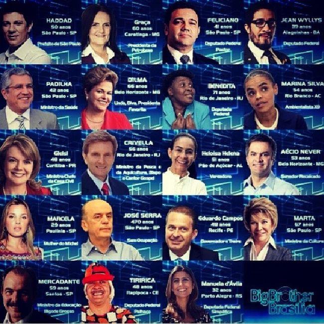 """Big Brother Brasília""... povo da net inventa coisa... kkkkk ... tive que compartilhar... Humorcedo Bomdia"