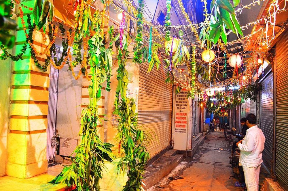 Indian Festival Janmashtamiceleberation Colorful View