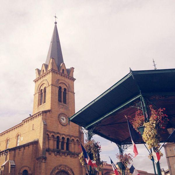 Armistice France Church Flags
