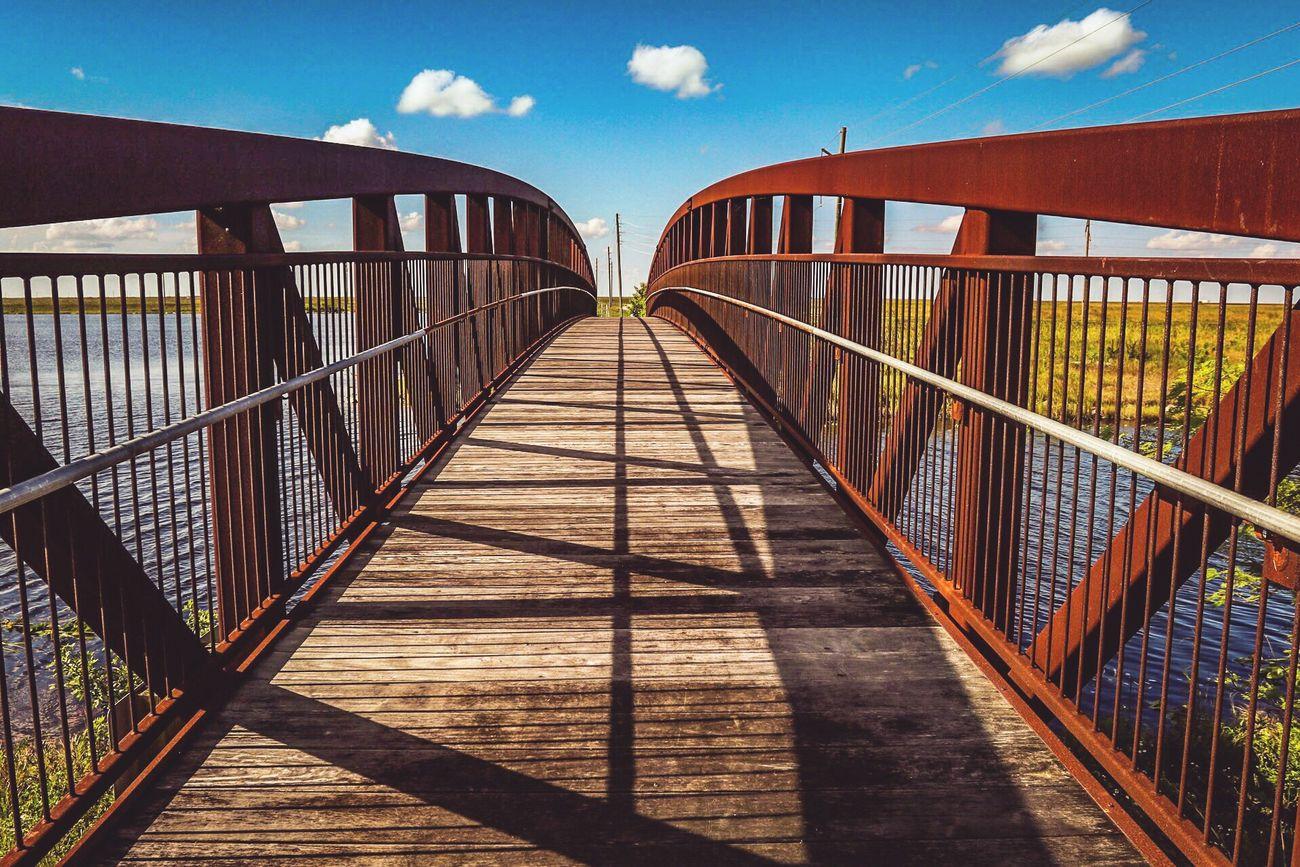 Over the bridge Everglades  Explore Canon