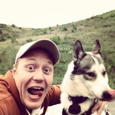 Crazyselfies Bergehalde, Landsweiler-Reden, Husky, Wheelchair-CaniCross Husky Siberian Husky Cani Cross
