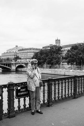 Blackandwhite City City Life Paris Phone Street Photography Streetphotography