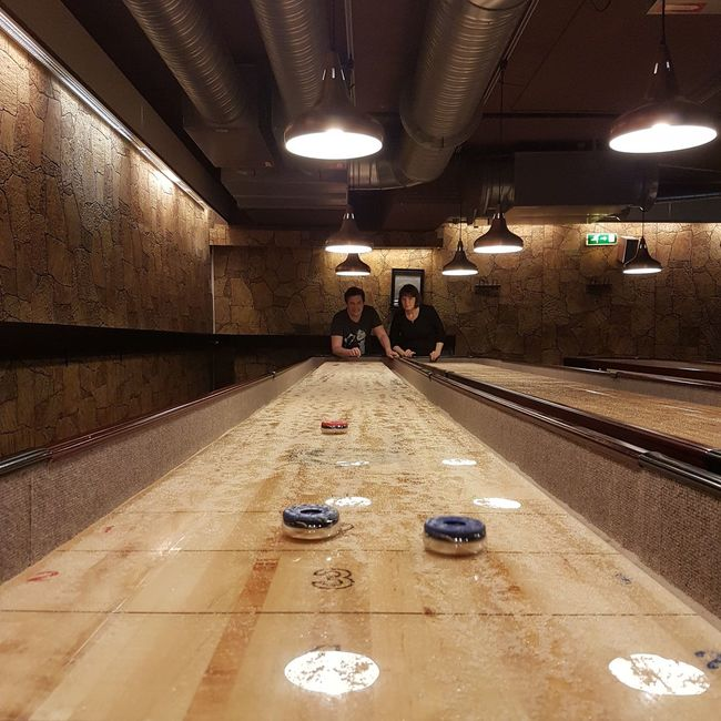 Shuffleboard Pub Enjoying Life Taking Photos Getting Competitive At The Bar Beer Hanging Out Drinking Beer