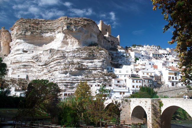 Architecture Bridge Built Structure Castle Cloud - Sky Magic Mountain Muntain No People Perfection Relax Rock Scenics Sky Town Tranquility Tree Village Water White Town