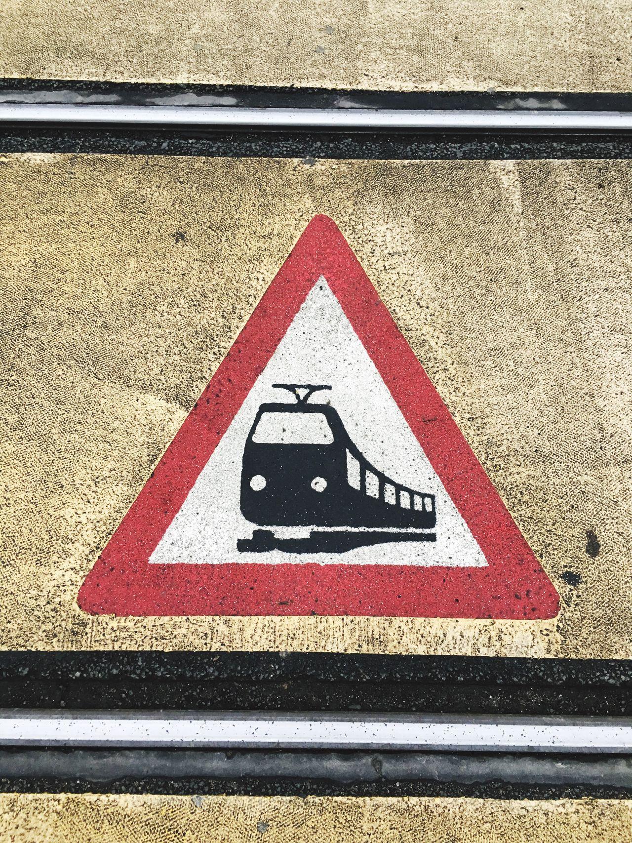 Beware; Trains crossing… Lookingdown