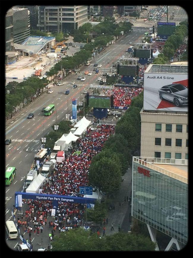 Street Cheering Worldcup