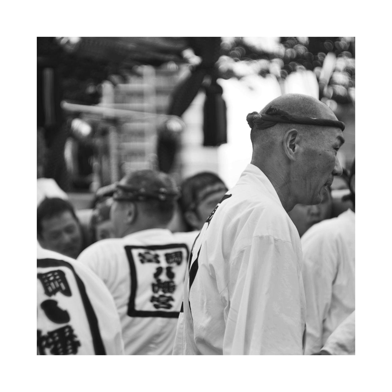 Eye4black&white  NEM Black&white EyeEm Gallery EyeEmBestPics EyeEm Best Shots - Black + White People Photography Japan Tokyo Matsuri Toyosu