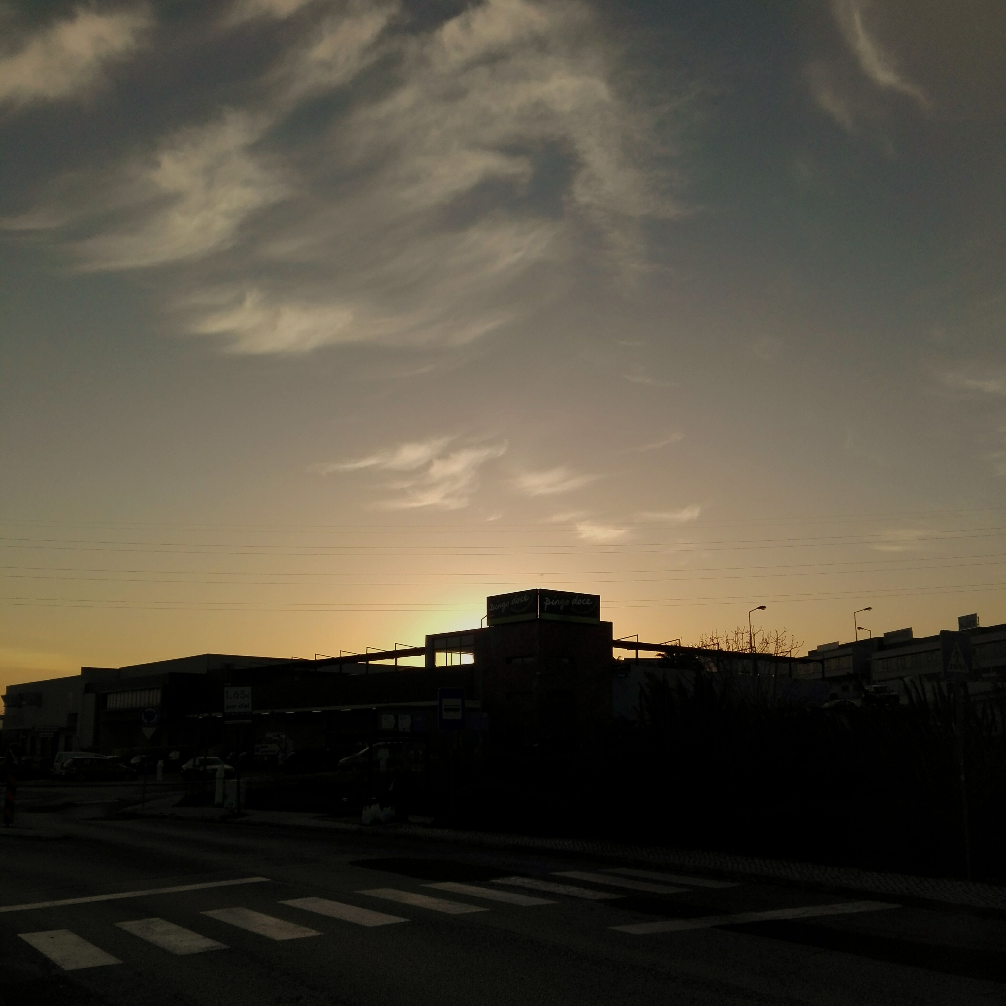 sunset, sky, architecture, built structure, silhouette, no people, building exterior, cloud - sky, outdoors, city, nature, day