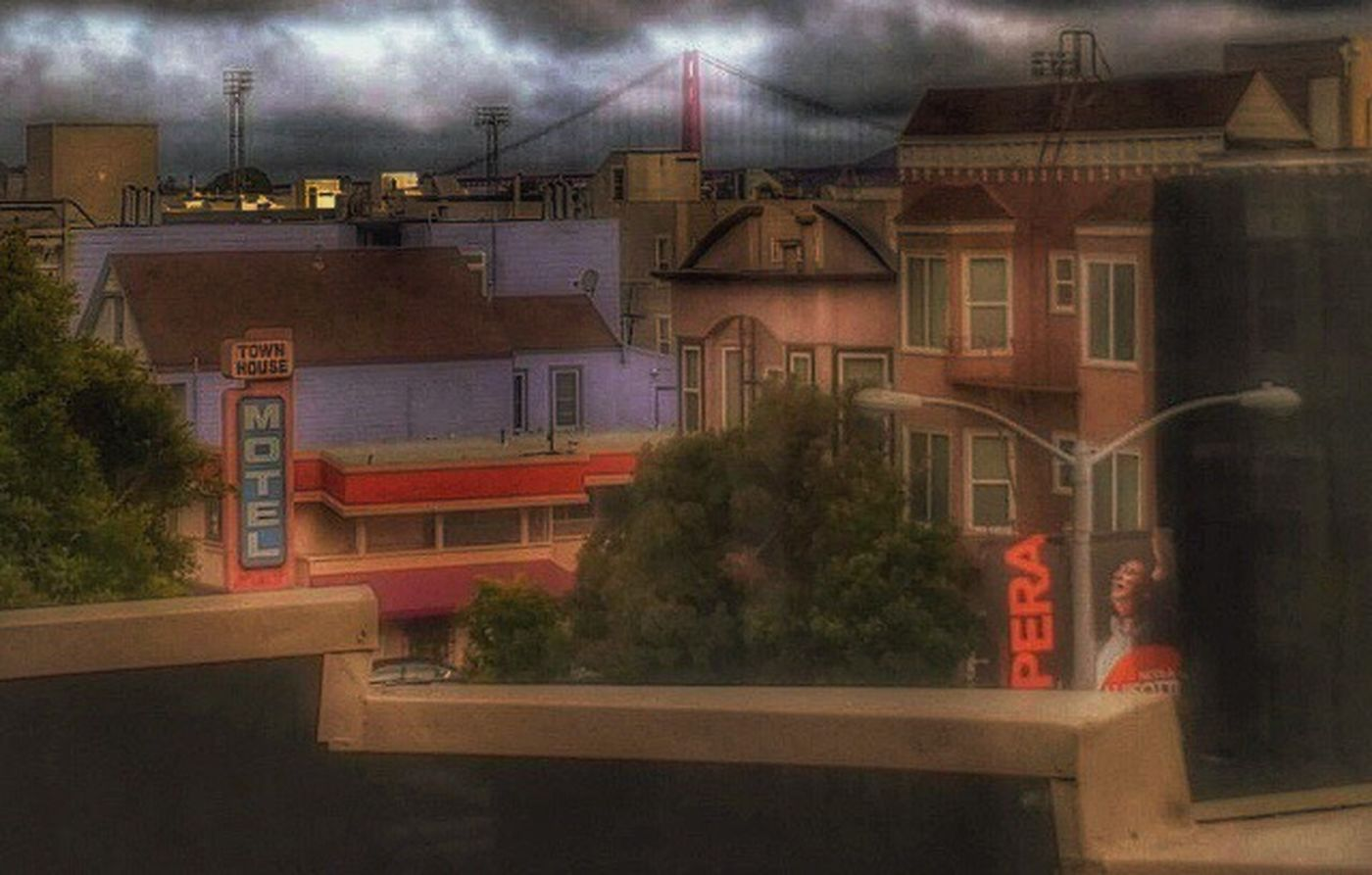 Mix Yourself A Good Time My View San Francisco, California Golden Gate Bridge Building Exterior Hotell City Life