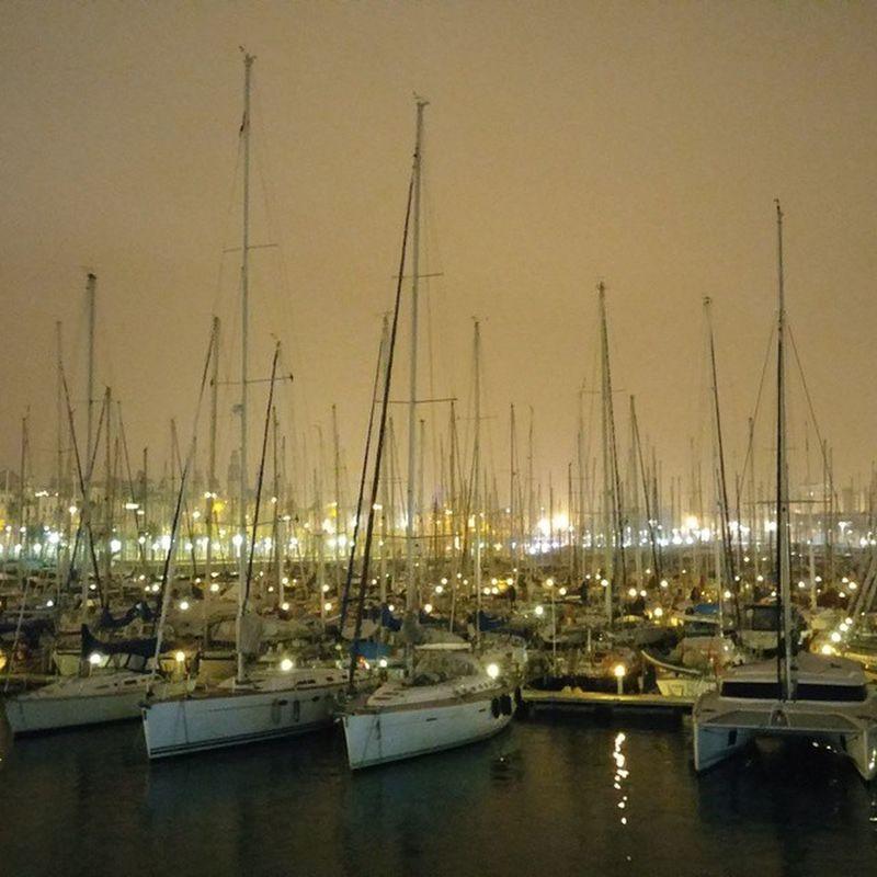 Boats Barcos Barcelonaharbor Puertodebarcelona Barcelonansatama Barcelona Bcnexploradores Bcnexplorers Thebarcelonist Nightphoto Nighttime Fotodenoche Fotonocturna SPAIN Cities At Night