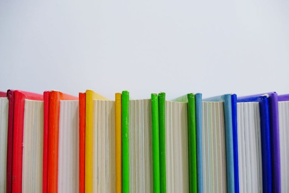 Beautiful stock photos of books, Book, Close-Up, Colorful, Copy Space