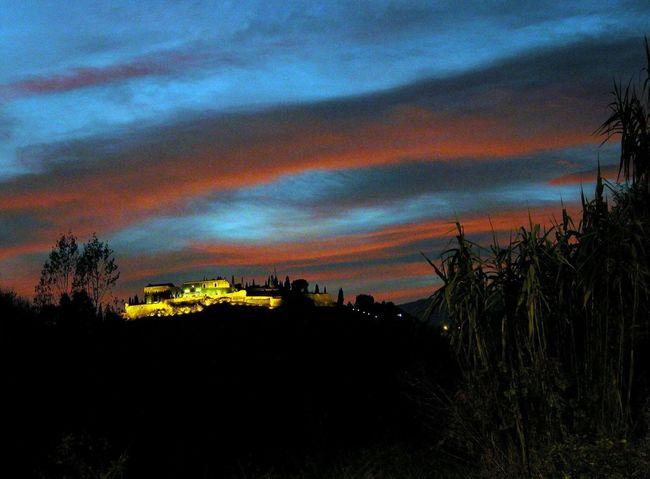 Towns, Castles, EyeEm Sunsets_captures EyeEm Gallery Girona Night Lights Peoples Of Catalonia Night Photographs