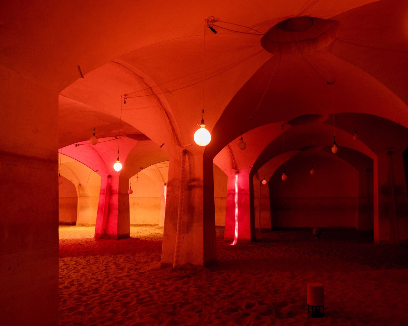 Illuminated Indoors  No People Architecture Day Red Urbanphotography The Architect - 2017 EyeEm Awards