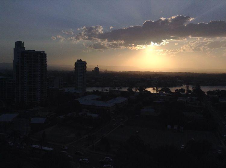 No Filter Sunset City Gold Coast