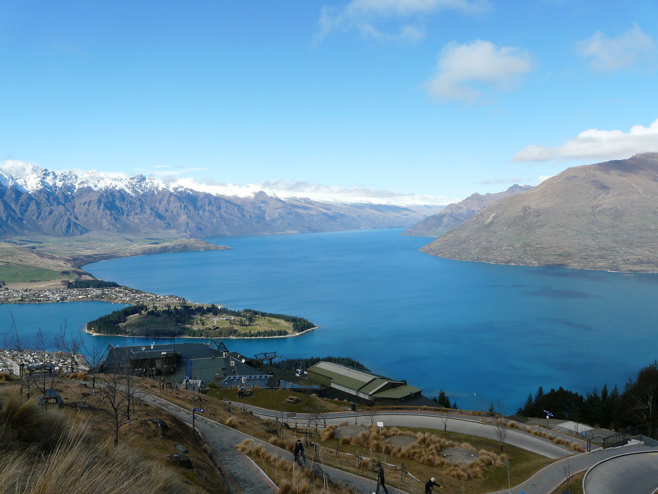 Overlooking Lake Wakatipu and The Remarkables- Queenstown NZ Beauty In Nature Blue Clear Cloud Cloud - Sky Day Idyllic Lake Wakatipu Landscape Leisure Activity Luge Track Mountain Mountain Range Nature New Zealand Beauty New Zealand Landscape New Zealand Scenery Outdoors Queenstown Nz Scenics Sky The Great Outdoors - 2016 EyeEm Awards The Remarkables Tranquil Scene Tranquility