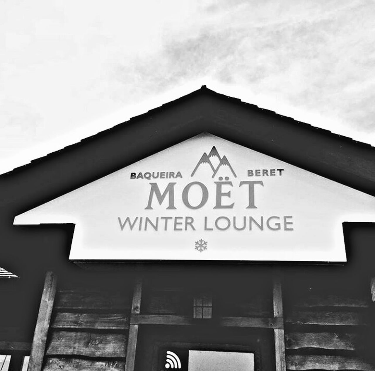 Moët&Chandon Moet & Chandon Sky Cloud - Sky Window Built Structure Building Exterior House Façade Architecture No People Roof Outdoors Day Business Finance And Industry Close-up The Week Of Eyeem First Eyeem Photo Black And White Blackandwhite Black & White EyeEm