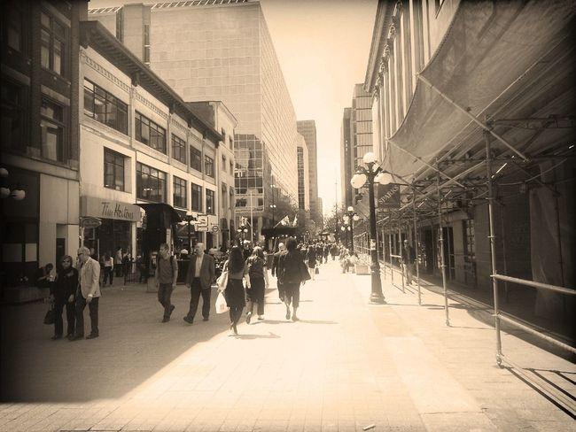 Downtown Ottawa  Sparks St.