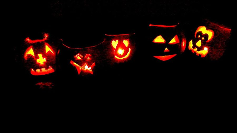 Pumpkins Fire For My Kids Bonfire Night Spooky