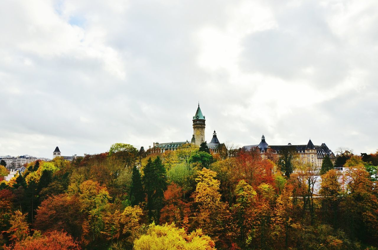 Beautiful stock photos of luxemburg, Autumn, Building Exterior, Cloud, Day