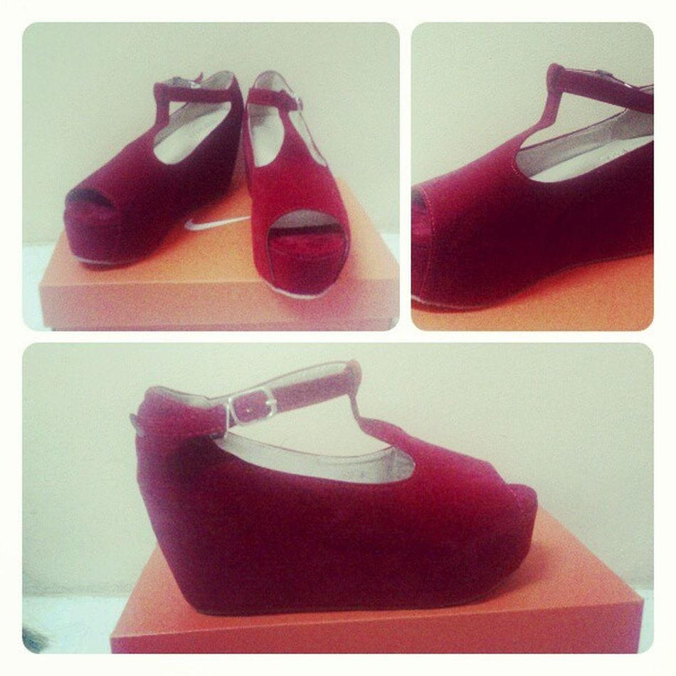 Calaman Shoes Red Loves