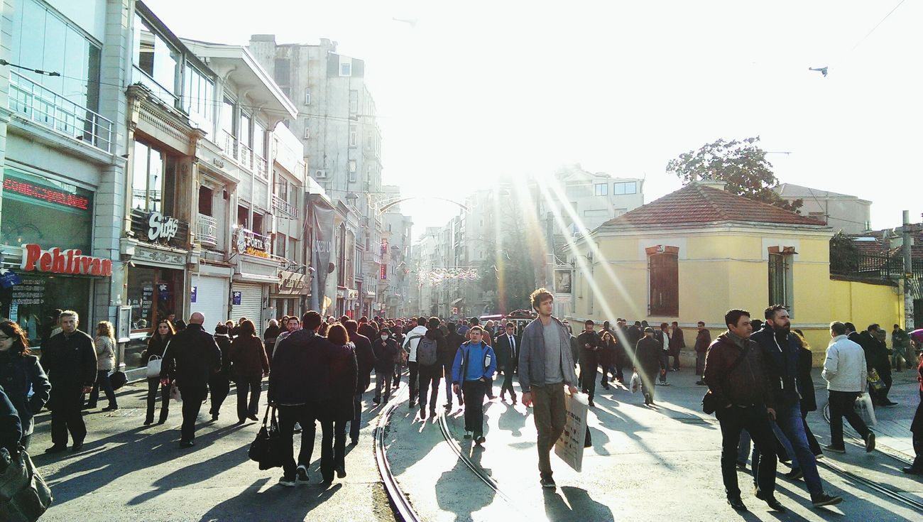 Istiklal Caddesi Sunny Istanbul On The Move Iloveistanbul Street Photographer-2016 Eyem Awards