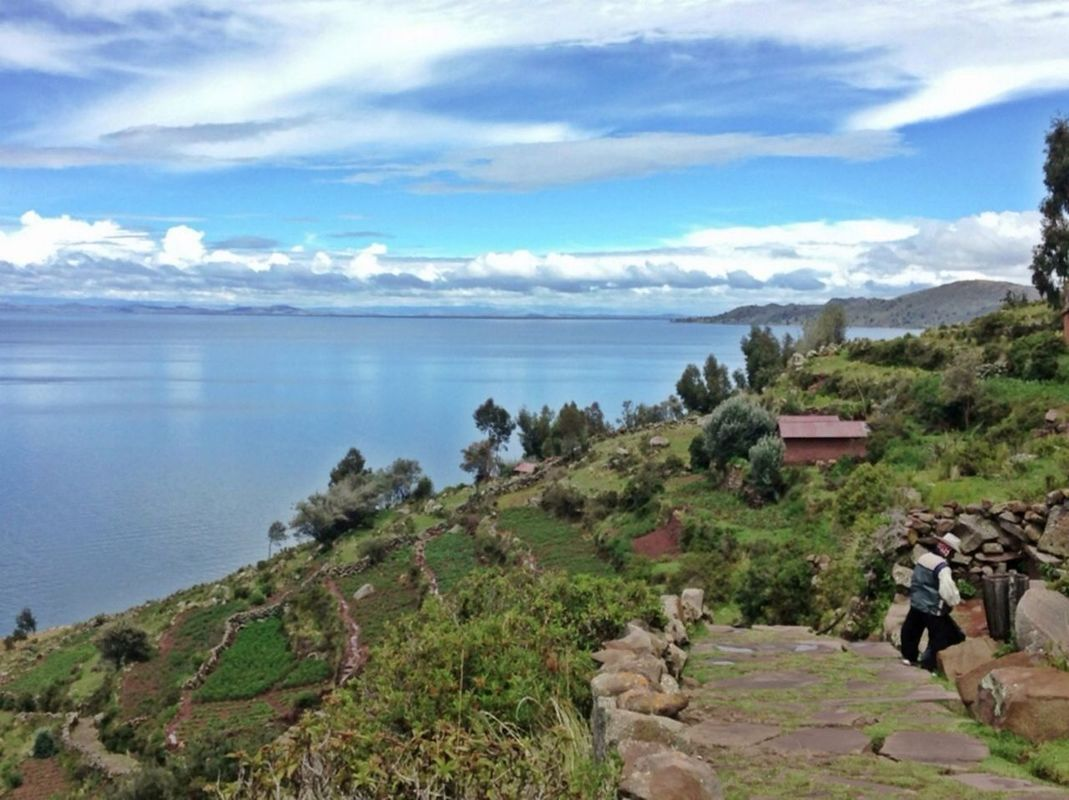 Taquile island - Lake Titicaca by Raul