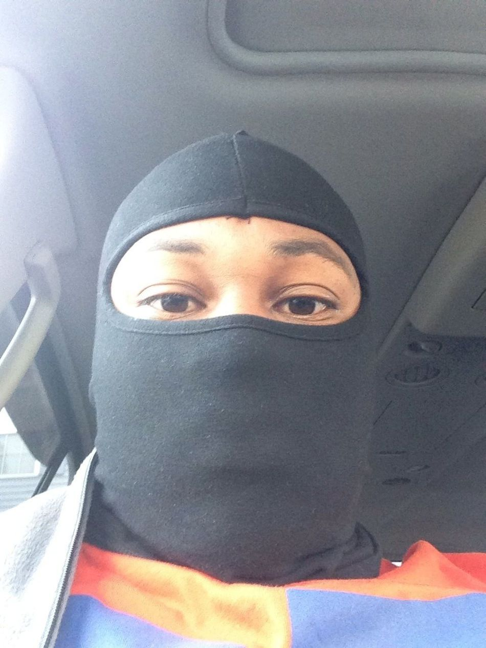 Ski Mask Never Leave Home Wit Out It❗❗❗❗❗