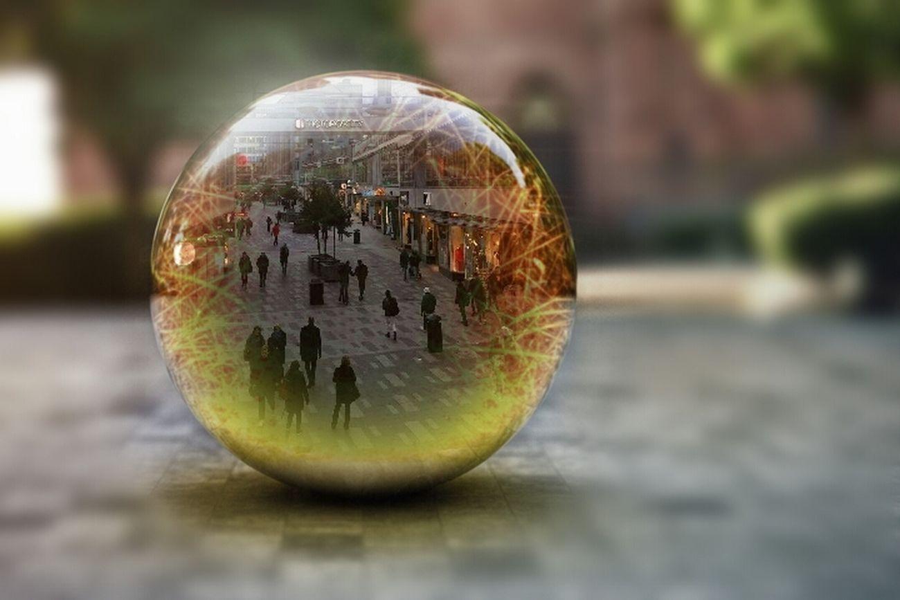 Sphere Close-up Artistic Photography EyeEm Best Shots ArtWork City Life City Cityscape Travel Destinations Street Photography Streetphotography