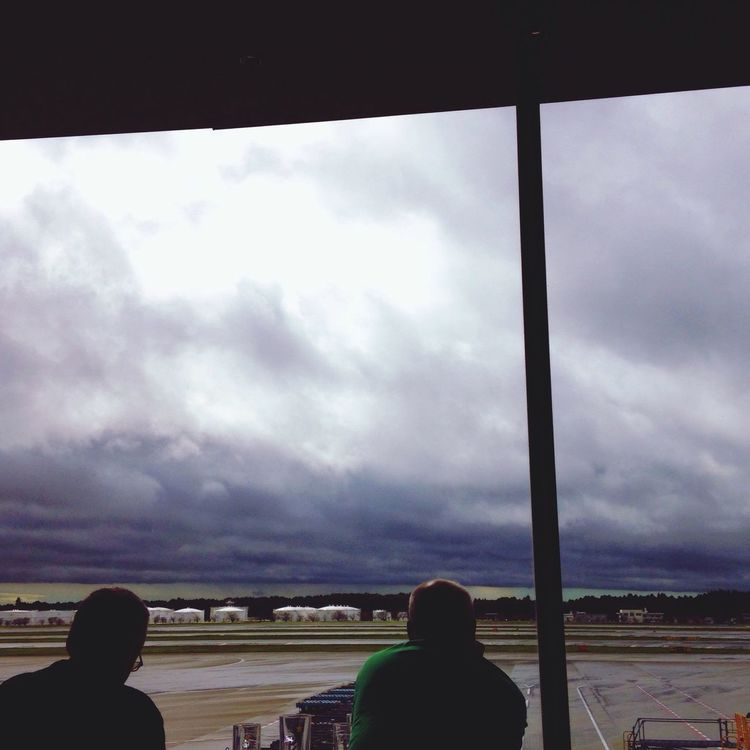 Waiting for the Storm to pass Typhoon Phanfone
