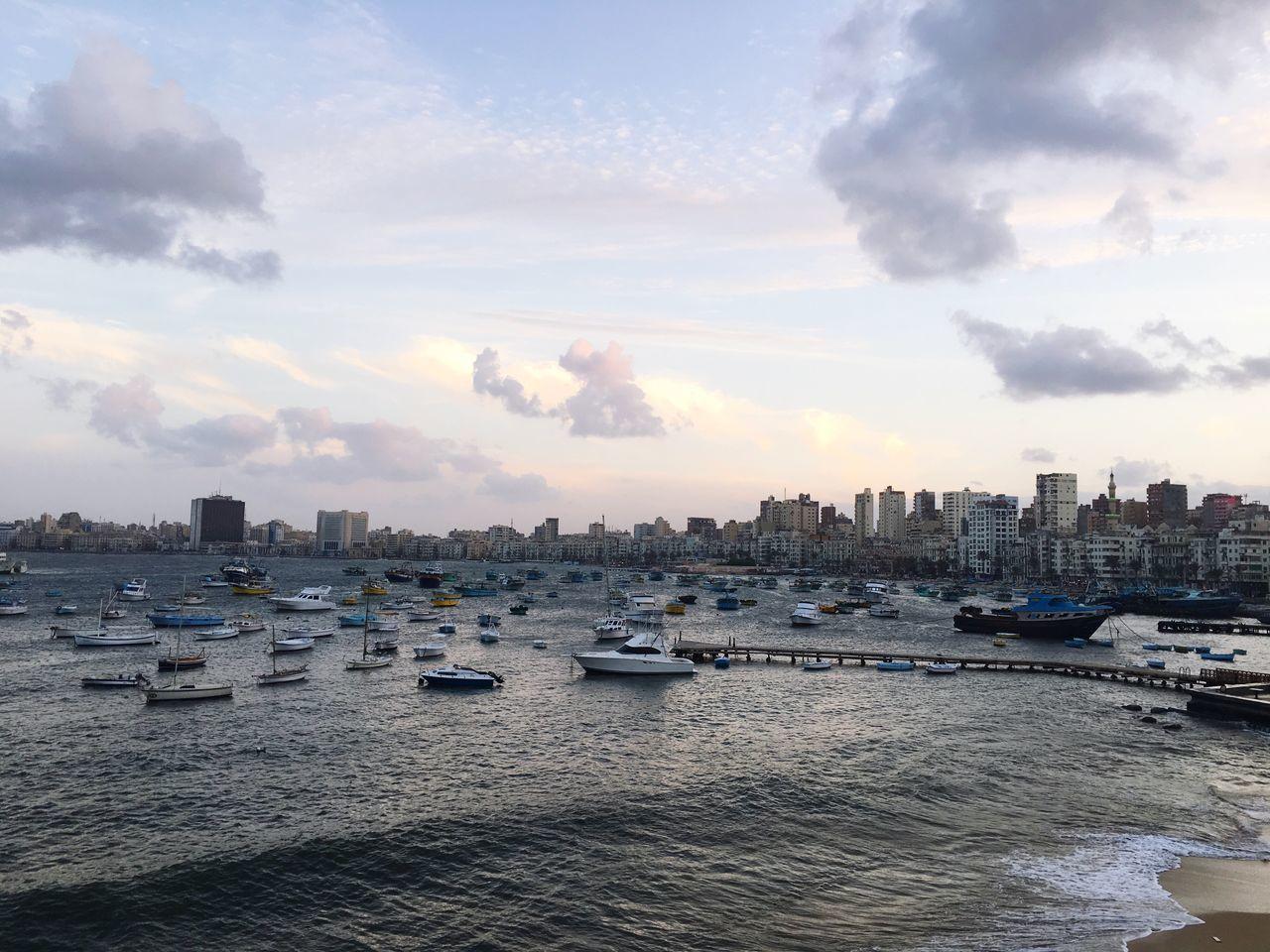Mediterranean Sea City Alexandria Egypt Cloud - Sky EyeEmNewHere