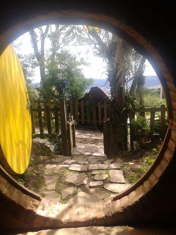 Cabaña De Los Hobbits en El Salvador Hermoso Casita Explorando La Comarca Calle Al Volcan Lugares Magicos Recuerdos Volveré Me Encanto Mi Lugar Sagrado ;)