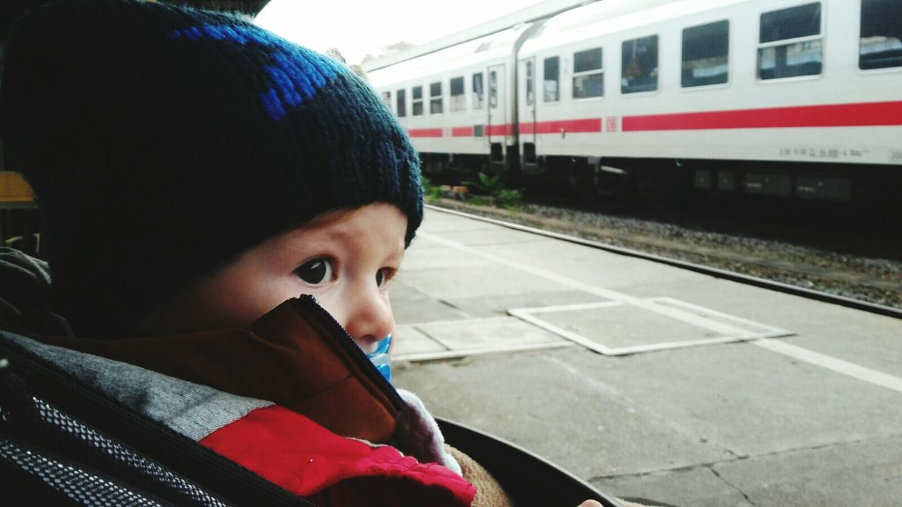 Subway Train Transportation Train - Vehicle Headshot Subway Station Travel Public Transportation People Passenger October 2016 Autumn 2016 The Place ı've Been Today My Nephew ❤ Little Boy Love My Family Love My Nephew Alexander