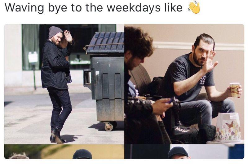 Bye Weekend 😢 Back To Work Mondays😒