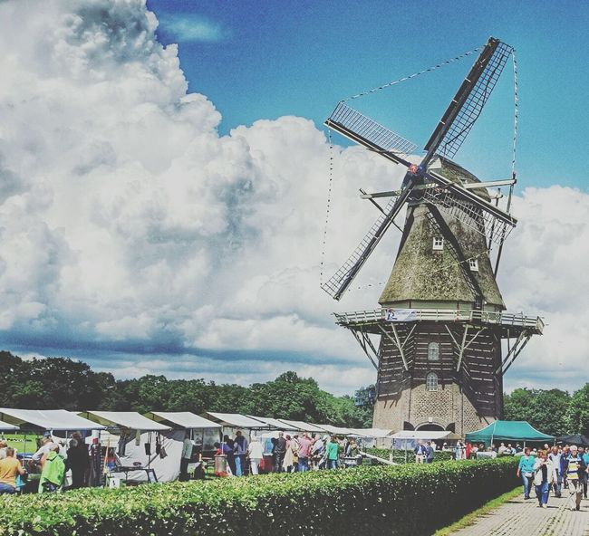 Check This Out Enjoying Life Vilsteren Fair Beautiful Windmill People Watching
