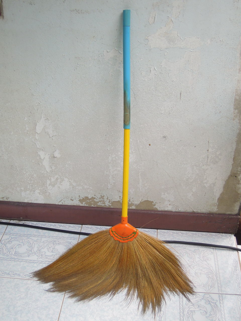 broom, cleaning, flooring, cleaning equipment, sweeping, indoors, mop, housework, built structure, no people, hygiene, day, architecture, close-up