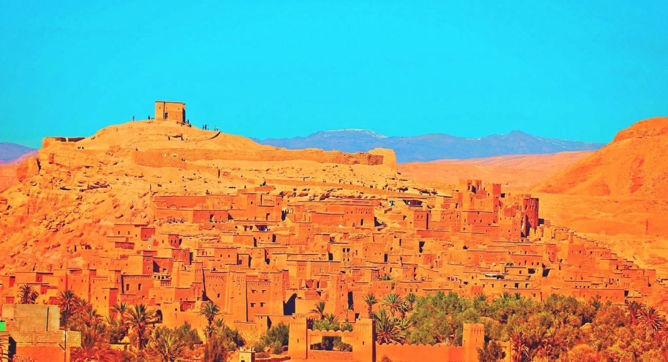 Morocco Ouarzazate Beautiful Nature Old Tourist Photography Sun