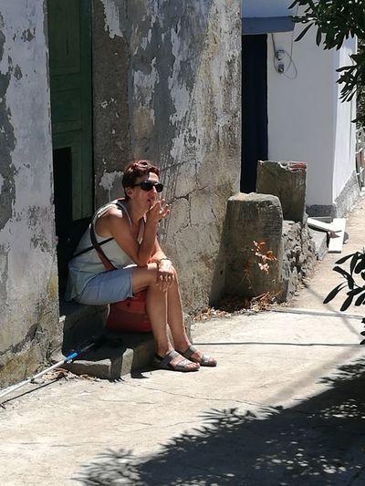 Sitting Sunglasses Only Women