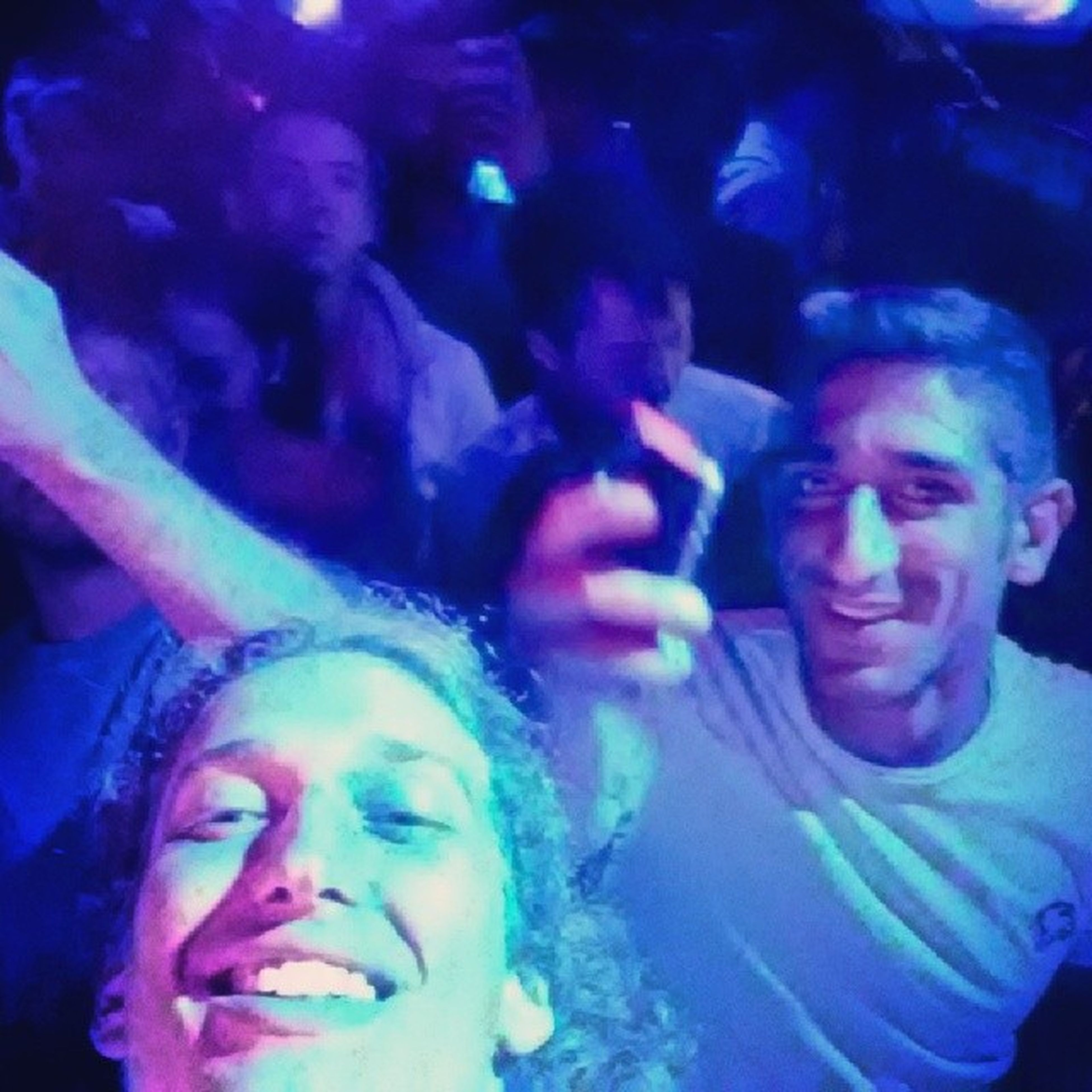 TravelStories - First SoBe club experience. This guy wound up becoming my roommate as well lol HostelLife ClubStory