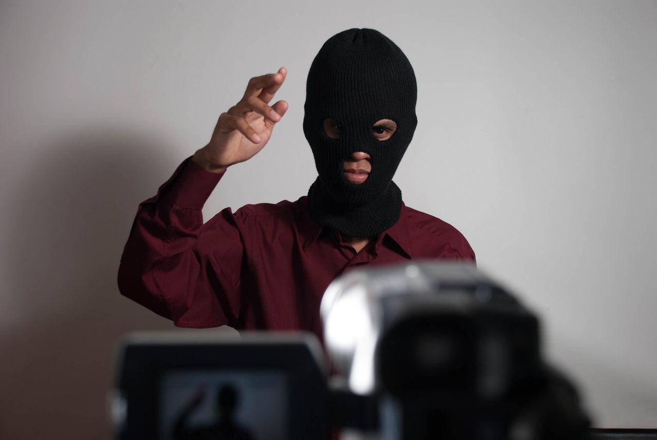 Blackmailing Hey You Selfie Sue Terror Terrorist Attack Threat Video Making