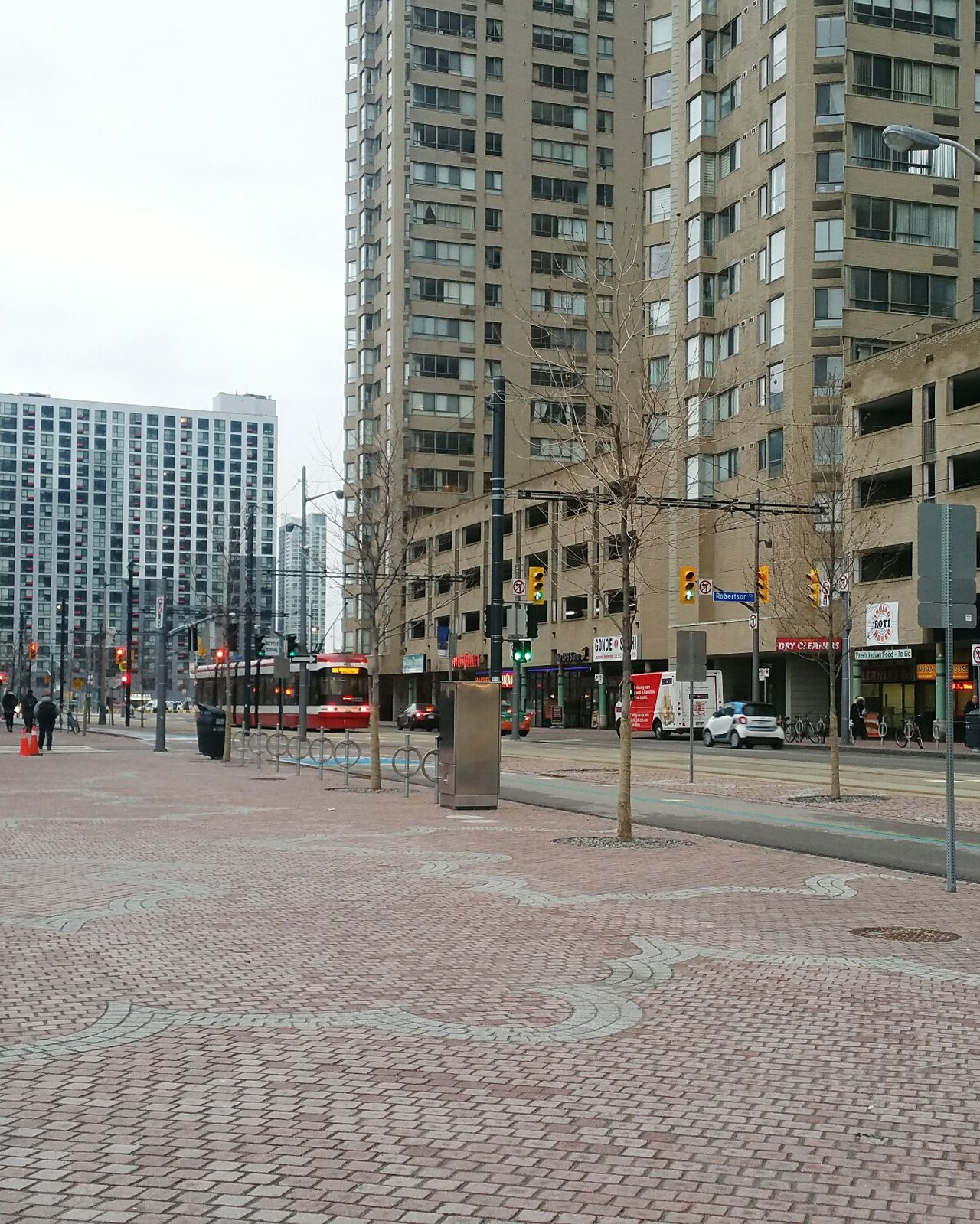 Toronto Transit Snaps City Architecture Building Exterior City Life Urban City Morning Winter Morning Toronto Downtown Streetcar Ttcstreetcar Commuting Harbourfront