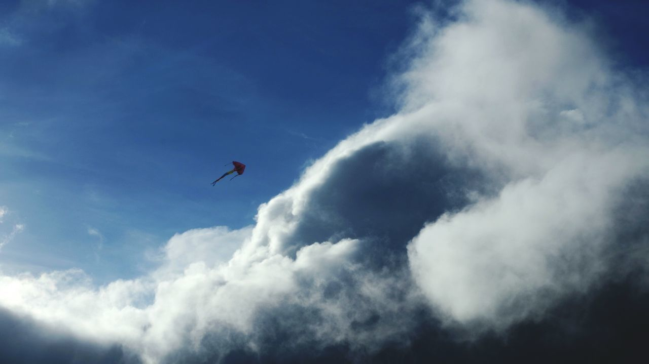 乘風破浪。無畏 Sky And Clouds Kite Flying DontBeAfraid  Huge!! Sky Waves Taking Photos Capturing Freedom Creative Light And Shadow Capture The Moment