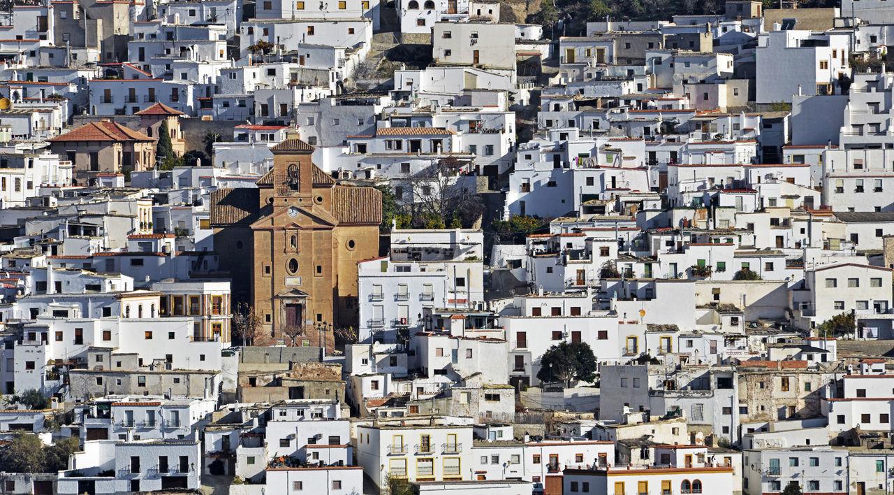 Almería Alpujarra Andalucía Andalusia Architecture Building Exterior Built Structure Church City Cityscape Day Detail EyeEm Best Shots Façade House Outdoors Residential Building Rural SPAIN Tourism Town Village White Spaın